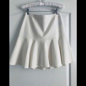 Elisabeth and James flare off white skirt 6
